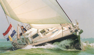 Sanjero Custom Sloop Sailboat