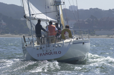 Tranquilo Performance Sloop Sailboat