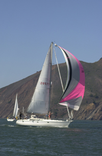 Tranquilo Rental Sailboat, Spinnikar